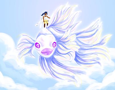 Aurelia and The Fish: Animatic