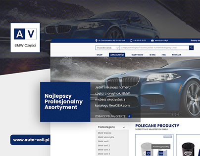 Auto-Voll | e-Commerce Webdesign