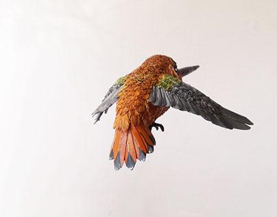 Humming Bird Sculptures