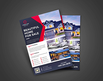 Real Estate Business Flyer Design