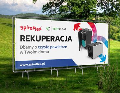 Spiroflex / Print Ads