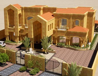 LANDSCAPE&BUILDING DESIGN-MR .AHMAD-ABUDHABI2020