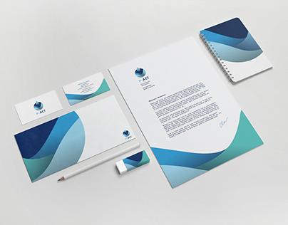 P-act, branding & illustrations