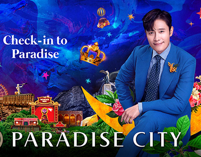 2020 Paradice City Hotel Promotion Key Viual Artwork