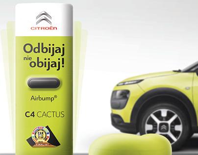 Citroen Cactus (POS, ambient, gadget)