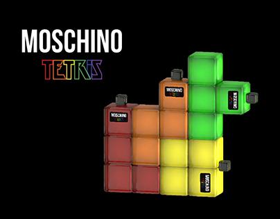 MOSCHINO TETRIS Perfume packaging concept