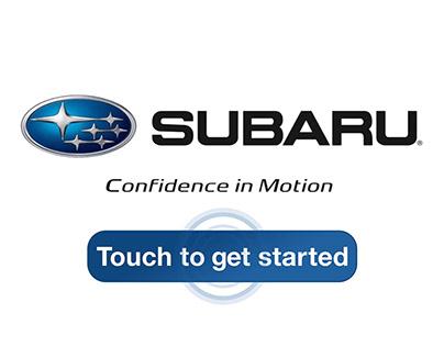 Subaru Touchscreen - Promo Video