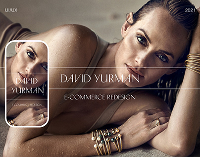David Yurman E-Commerce Redesign.