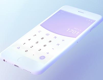 Daily UI 04 : Calculator