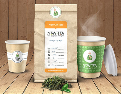 Брендинг чайного проекта NewTea