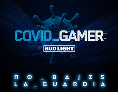 COVID GAMER BUD LIGHT