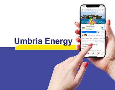 Social Media Concept Umbria Energy