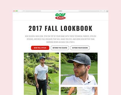 Golf Town - 2017 Lookbook