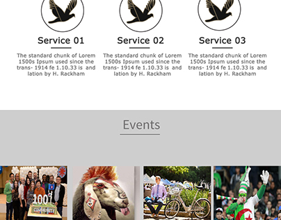 Layout For AAAC  WebSite