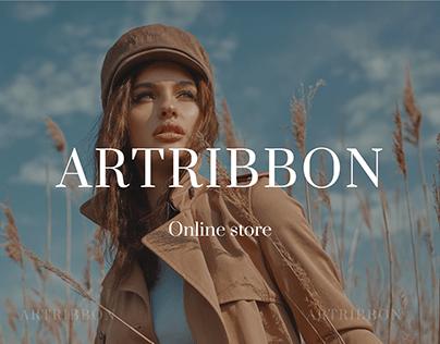 E-commerce Fashion Store Artribbon.ru