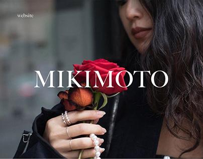 MIKIMOTO - Online store redesign concept