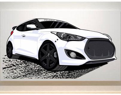 Custom Car Design Project - car006