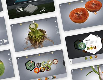 Plant Doctor 3D App - UI/UX (2015)
