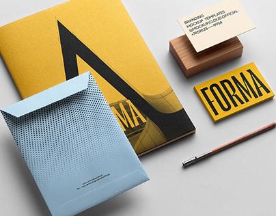 Forma Branding Mockup