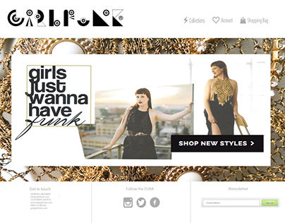 Website Design   Girlfunk