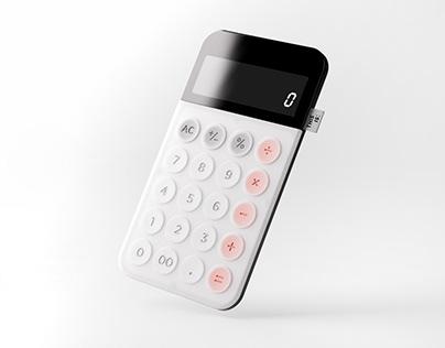 Neumorator _ Product Design | Calculator | Living