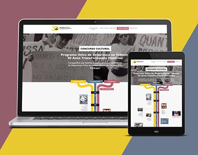 Website Responsivo - 30 Anos PVST