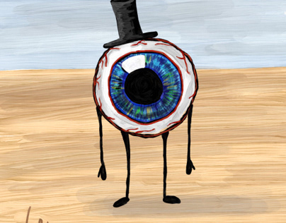 This is just an eye