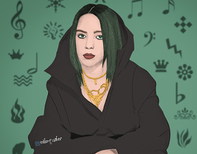 My work Billie eilish