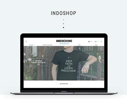 Refonte UI/UX - Indoshop (2016)