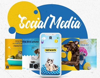 Vetwork Social Media