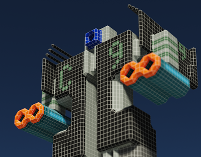 Voxel Madness