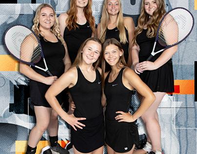 Ripon High School Girls' Tennis Seniors Class of 2020