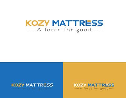 Logo Design for Kozy Mattress