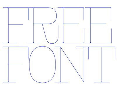 FR Kraken Slab - a free font