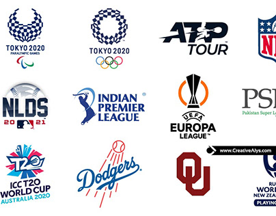Famous Sports Logos in Vector For Year 2020-21