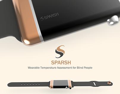 SPARSH- Temperature Assessment for Blind