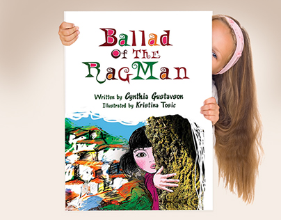 Book Illustrations / Ballad Of The Rag Man