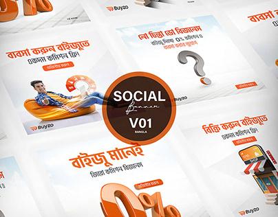 Social Media Design Bundle for Buyzo