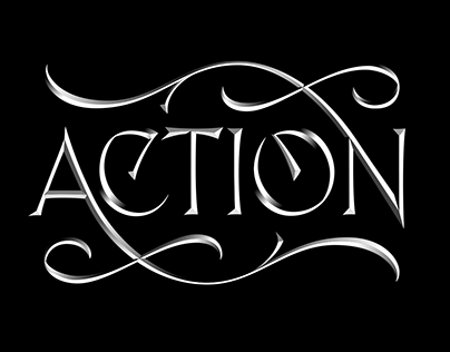 Action - Stone carving