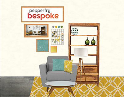 Experience Design for Studio Pepperfry