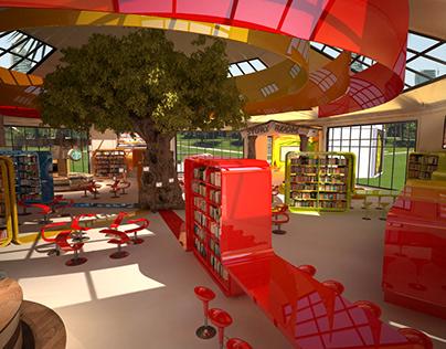 Dewa Park Library