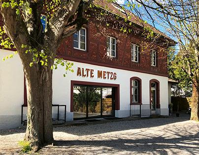 Beschriftung / Signaletik Alte Metzg Sissach