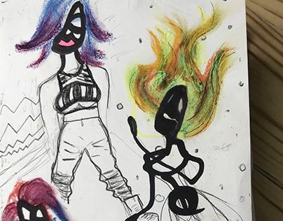 Doodles - Sketchbook