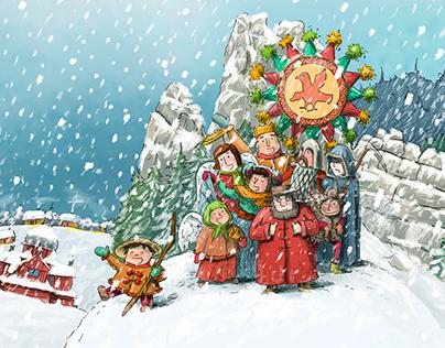"""Carols in """"Tustan"""""""