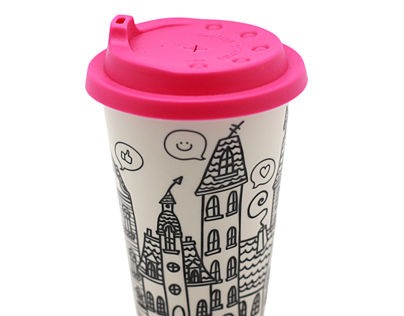 City in a cup