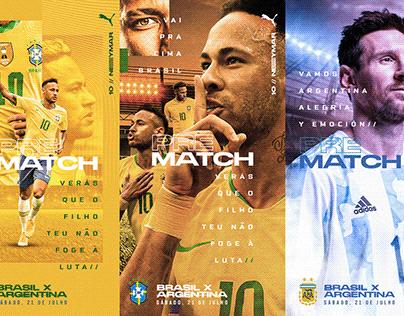Social Media Copa America Finals