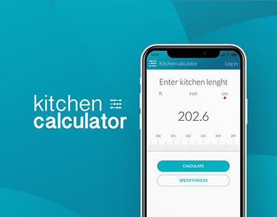 Kitchen calculator