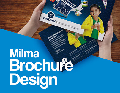 Milma Brochure Design