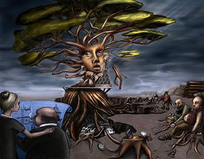Mother Earth - Deforestation