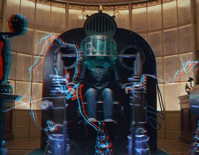 3d stereo VFX work